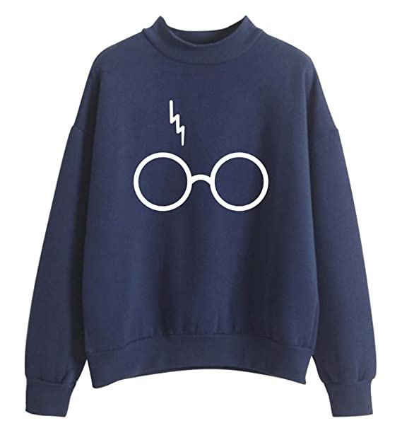 SIMYJOY Mujere Harry Potter Fans Sudaderas Niñas Cool Casual Linda Jersey Loose Fitting Top: Amazon.es: Ropa y accesorios