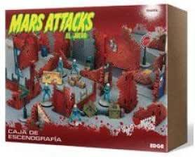 Mars Attack - Caja de escenografía (Edge Entertainment EDGMD50): Amazon.es: Juguetes y juegos
