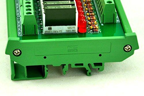 ELECTRONICS-SALON Slim DIN Rail Mount DC12V Source/PNP 32 SPST-NO 5A Power Relay Module, PA1a-12V by CZH-LABS (Image #6)