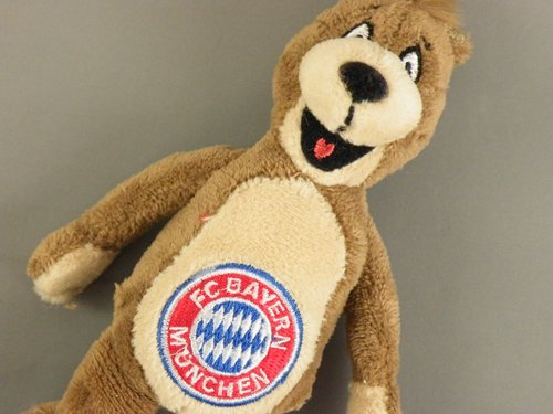 FC Bayern München - Plüsch Schlüsselanhänger