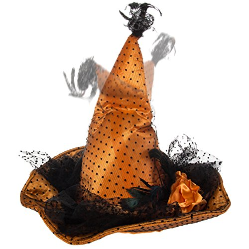Dancing Musical Witch's Hat Halloween Costume Accessory Scary Party Decoration - Halloween Hats