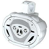 """BOSS Audio MRWT69W 550-watt 4 way Marine 6"""" x 9"""" Waketower"""