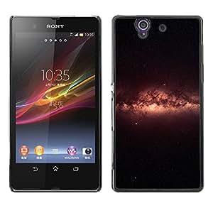 EJOY---Cubierta de la caja de protección la piel dura para el / Sony Xperia Z L36H / --Galaxy Glow