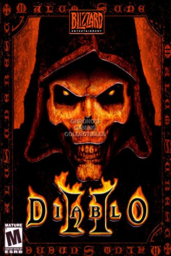 CGC Huge Poster - Diablo 2 PC Box Art - EXT022 (24