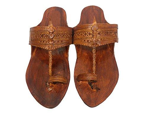 Style Ss9 On Pelle In Buffalo Da Fatte Step Scarpe Hippie Boho Flip Mano Effetto A Antico Sandalo N 5wq76YT