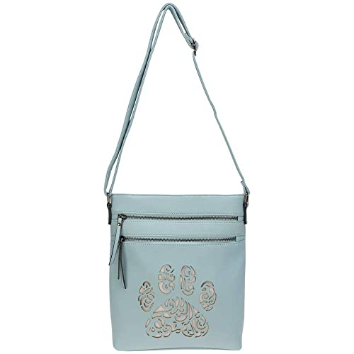 Pawsitively Beautiful Crossbody Bag (Blue)  Handbags  Amazon.com 22b35d1f07433