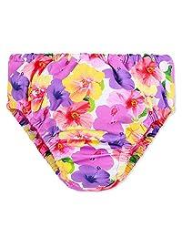HUANQIUE Baby Infant Swimsuit UV Rash Guard Swim Diaper Cover