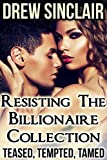 download ebook resisting the billionaire collection: teased, tempted, tamed pdf epub
