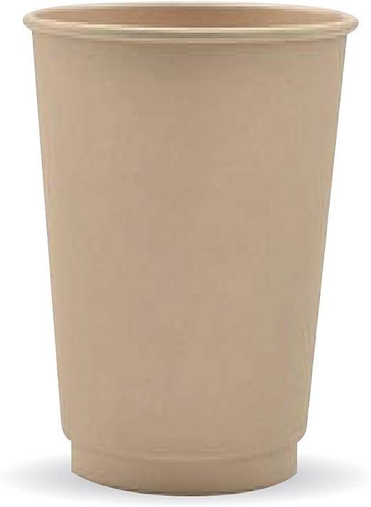 BioHeroes - Taza de plástico biodegradable con pulpa de bambú PLA ...