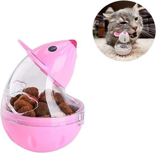 Bola dispensadora de alimentos para mascotas, diseño de ratones en ...