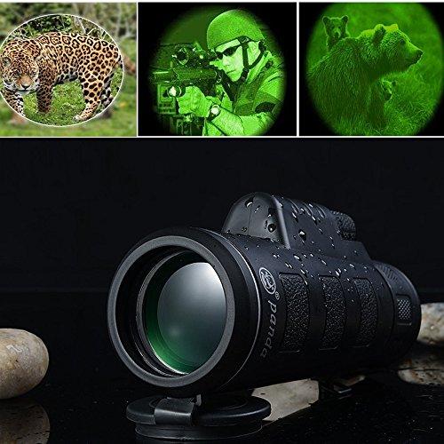 Euone  Telescope, Super High Power 35X50 Portable HD Optics BAK4 Night Vision Monocular Telescope ()