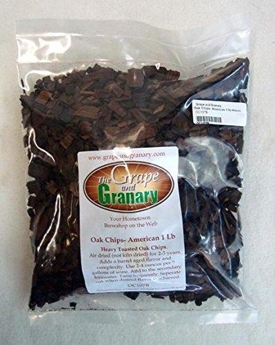 - Oak Chips- American 1LB- Heavy Toast