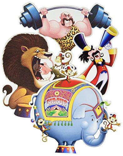 Circus Cutouts Decorations (Circus Cutouts(4/Pkg))