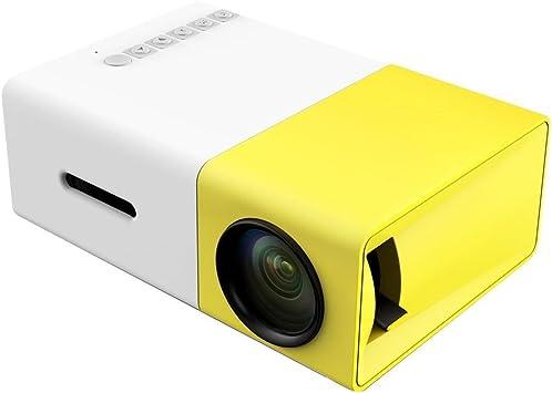 Hanguang - Proyector de vídeo Mini proyector LED 1080P portátil ...