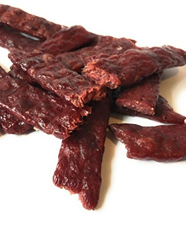 Dakota Trails Super Tender and Moist 10 Pound Bulk Bag Original Kippered Beef Jerky (Turkey Teriyaki Marinade)