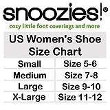 Snoozies Womens Classic Splitz Applique Slipper Socks | Dachshund | Medium