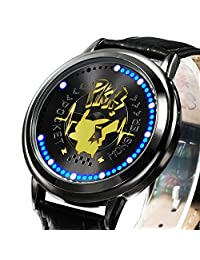 Wildforlife Anime Pokemon Pikachu Collector's Edition Touch LED Watch