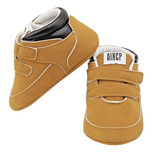 Huhu833 Baby Jungen Weiches Kleinkind Neugeborenes Wärmende Schuhe Kleinkind Schuhe Khaki
