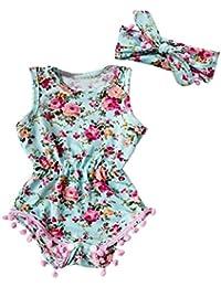 Gotd Newborn Infant Baby Girl Romper Jumpsuit Bodysuit...