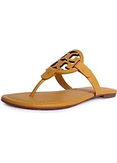 04eda10b0f8f Tory Burch Miller Sport Mini Tumble Sandal in Dusty Cassia
