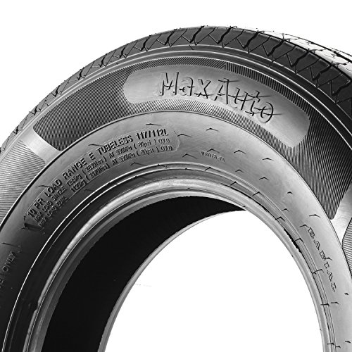 Set of 4 ST225/75R15 MaxAuto Radial Trailer Tires, ST225/75R-15 22575R15 10Ply by MaxAuto (Image #4)