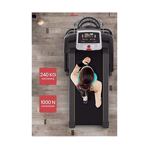 Fitness Club Tapis roulant Professionale, Pieghevole, Macchine da Passeggio Carico 150 kg, Cyclette Compatibile WiFi… 7 spesavip