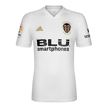 Adidas VCF H JSY Y - Camiseta 1ª equipación Valencia CF, Niño, Blanco(Blanco): Amazon.es: Deportes y aire libre