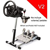 Deluxe Racing Steering Wheelstand for Thrustmaster T500RS. Wheel, Original Wheel Stand Pro Stand V2. Wheel and Pedals Not included.