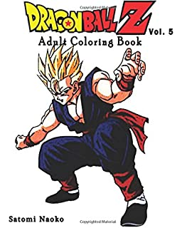Dragon Ball Z : Coloring Book : Series (Vol.1): Coloring Book ...