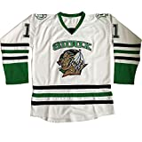 White North Dakota Fighting Sioux Jersey Men's University Hockey Jerseys S