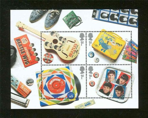 The BEATLES 2007 Mint Souvenier Sheet UK STAMPS - Uk Stamp