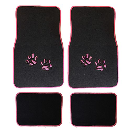 Very Cheap Price On The Paw Print Car Mats Comparison