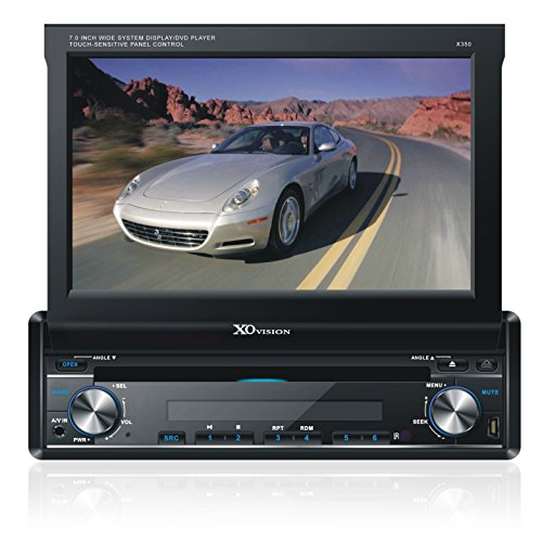 XOVision X350 7-Inch In-Dash Touch Screen DVD Receiver
