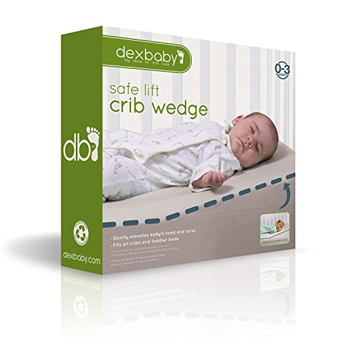 Dexbaby Safe Lift Universal Crib Wedge And Sleep Wedge For