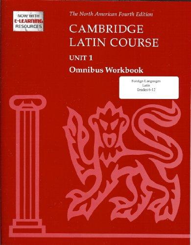 Cambridge Latin Course Unit 1 Omnibus Workbook North American Edition (2009) (North American Cambridge Latin Course) -  North American Cambridge Classics Projec, Paperback