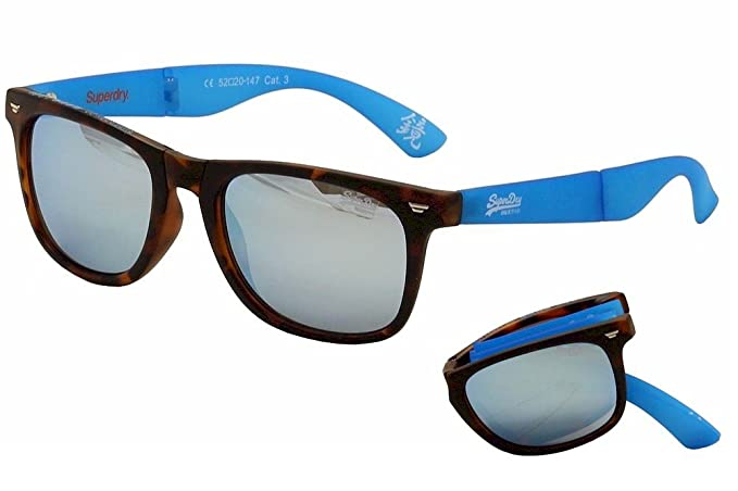 Superdry Gafas de sol SDS supergami con borde completo brown ...