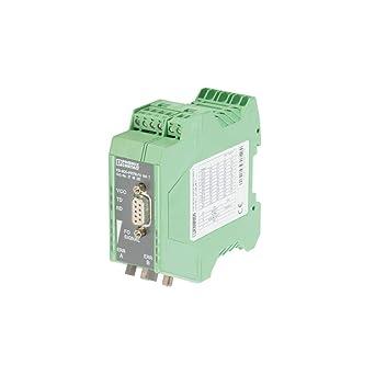 Amazon.com: Phoenix Contact 2708287 - Convertidor de fibra ...