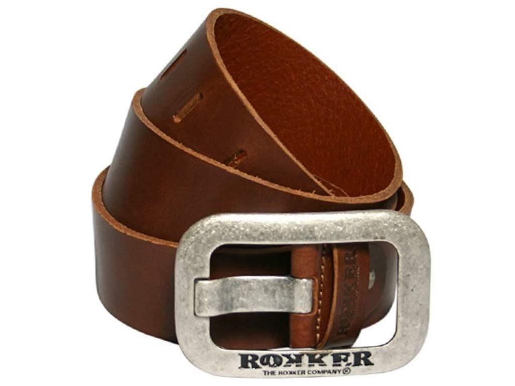 Ledergürtel Rokker Corona Belt , Braun, 90 CM