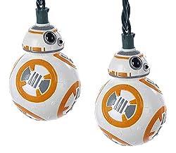 Kurt Adler UL 10-Light Star Wars BB8 Light Set