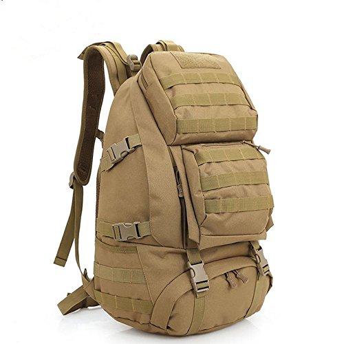 45L Rucksack groß Military Tactical Bergsteiger MOLLE Tasche Assault Pack Outdoor Wandern Schule Rucksack