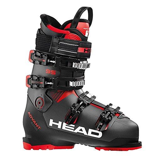 (HEAD Advant Edge 95 Ski Boot - Mens, Anthracite/Black/Red, 29.5)