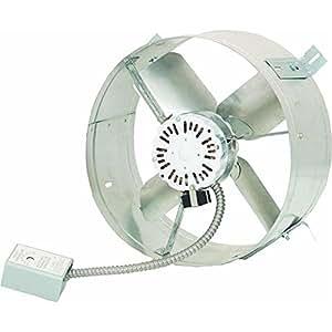 Cool Attic Cx1500ups Power Gable Ventilator Fan Amazon Ca