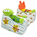 Happy Cherry Cartoon Baby Infant Adjustable Shape Pillow Anti-roll Head Positioning Pillow