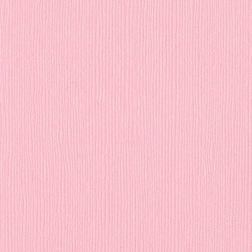 Bazzill Berry Blush 12x12 Textured Cardstock | 80 lb Light Pink Scrapbook Paper | Premium Card Making and Paper Crafting Supplies | 25 Sheets per Pack