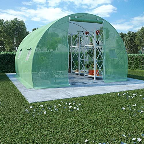 FAMIROSA Greenhouse with Steel Base 9 m2 300 x 300 x 200 cm