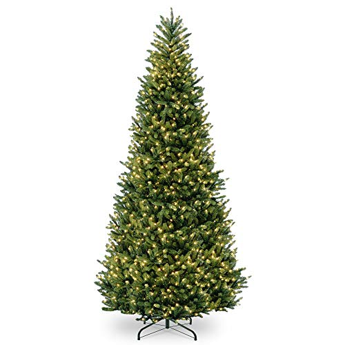 12' Pre-Lit Natural Fraser Medium Fir Artificial Christmas Tree - Clear Lights ()