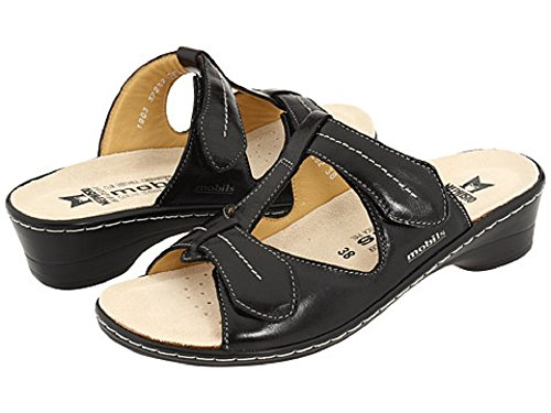 Black Mephisto 41 Donna sandalo Mobils Ciabatta pinky aq4qxtw0
