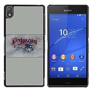 iKiki Tech / Estuche rígido - Patriotas - Sony Xperia Z3