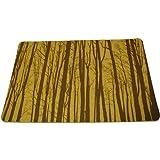 Cork Nature , 3mm, Set of 2 Korko 490402 Magic Forest Brown Placemat