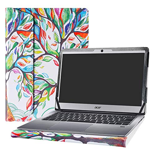 Alapmk Protective Case Cover For 14″ ACER SWIFT 3 14 SF314-51 SF314-52 SF314-52G SF314-53G Series Laptop(Warning:Not fit SWIFT 3 14 SF314-54 SF314-54G Series),Love Tree